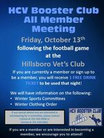HCV Booster Club Meeting