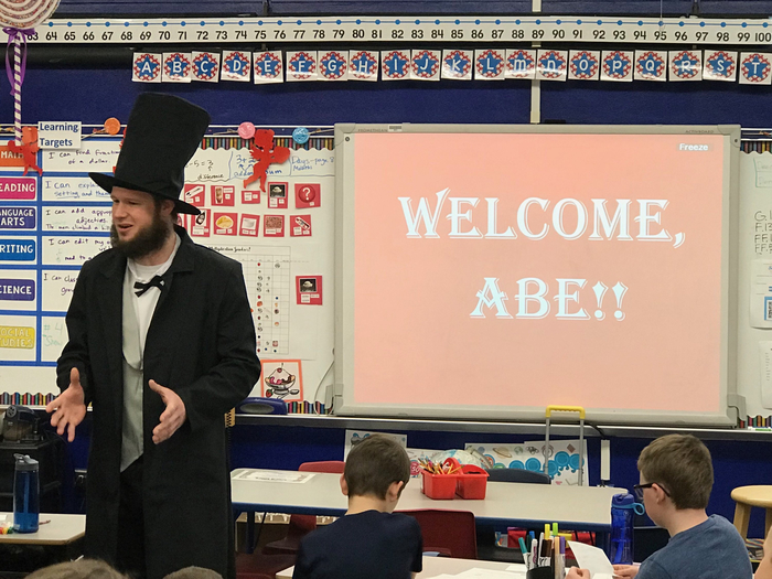 Welcome Abraham Lincoln!