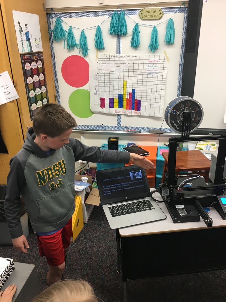 3D Printing in the elementary school.