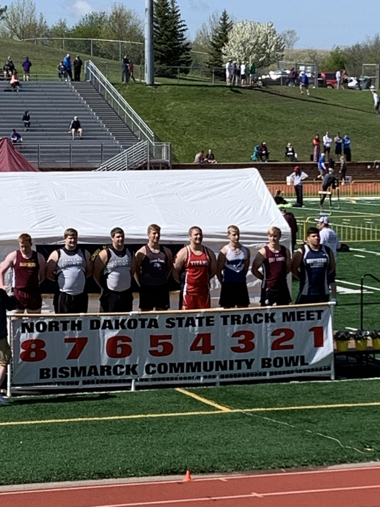 Kaden finishes 3rd in the shotput at State Track!