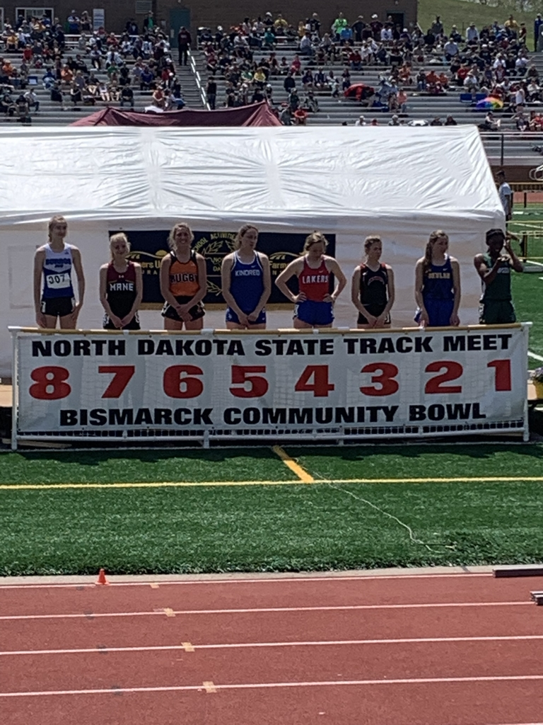 Laura finishes 8th in the 100 meter high hurdles at state track