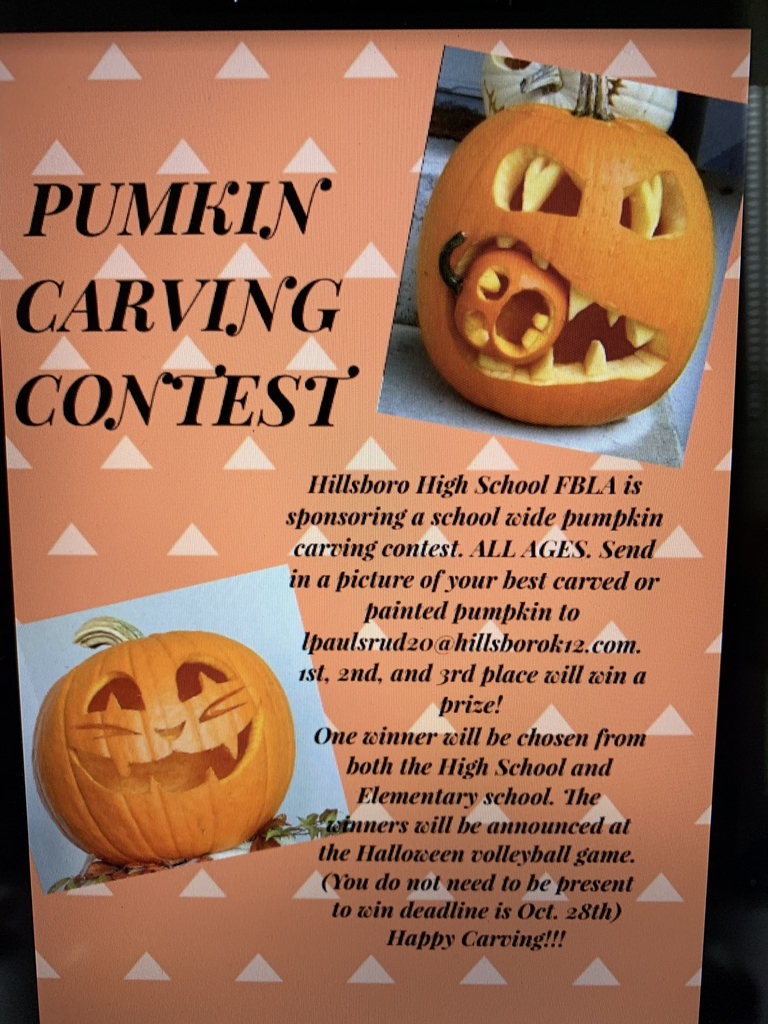 Pumpkin Carving Contest!