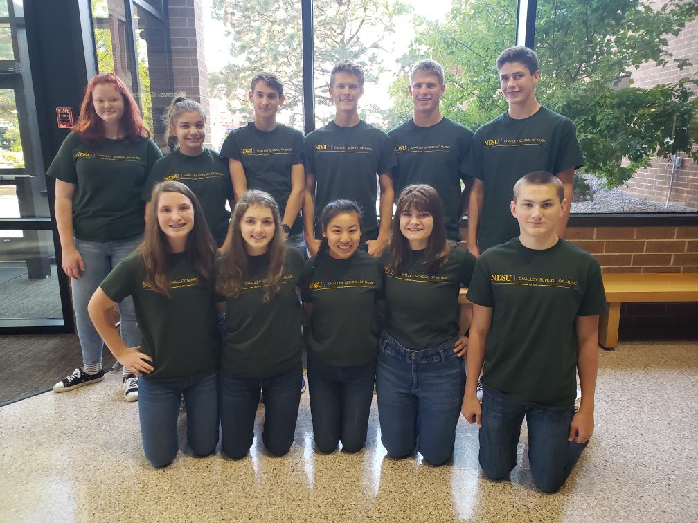 Hillsboro music students attend NDSU choir festival!!