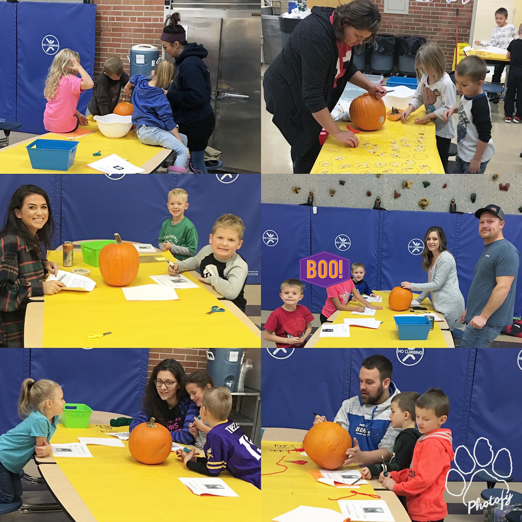 Learning with pumpkins!